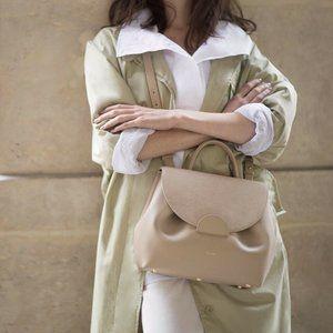 Polene Numero Un Crossbody Nude Sand Handbag